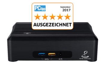 Prime Computer: Ausgezeichnet von PC Tipp